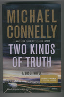 Michael Connelly Two Kinds Of Truth Hardcover w/ DJ Barnes & Noble Exclusive First Print VFNM