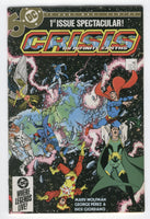 Crisis On Infinite Earth's #1 Perez Art Modern Age Key VF-