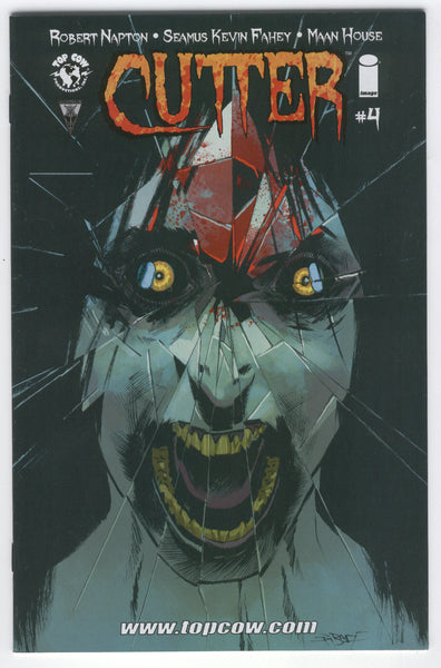 Cutter #4 Top Cow Comics 2014 VFNM Mature Readers