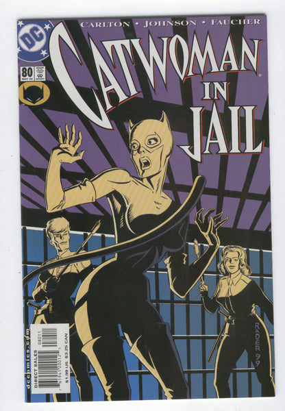 Catwoman #80 Kitten In A Cage NM-