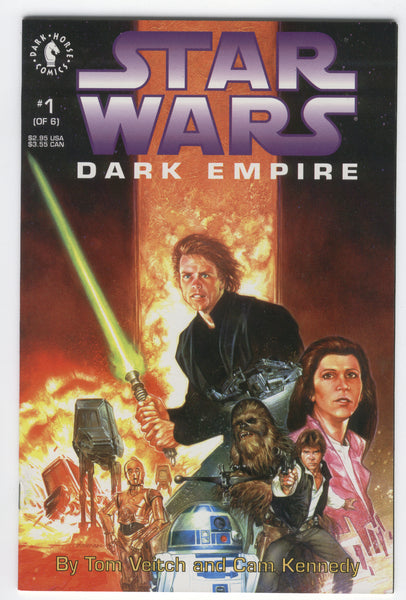 Star Wars Dark Empire #1 Dark Horse 1991 VFNM