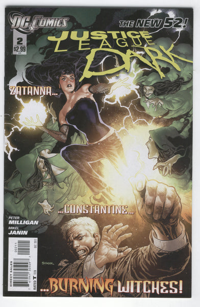 Justice League Dark #2 DC New 52 Series VF