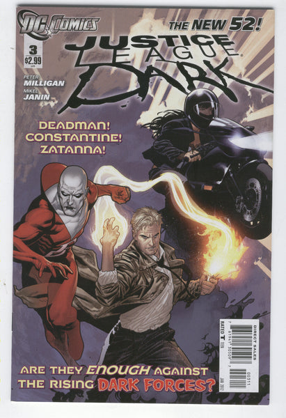 Justice League Dark #3 DC New 52 Series VF