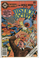 Dc Special #29 The Untold Origin Of The Justice Society HTF Bronze Age Hitler Cover VGFN