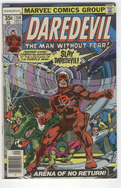Daredevil The Man Without Fear #154 Bronze Age VG