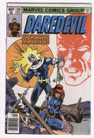 Daredevil #160 Frank Miller Key Black Widow In The Hands Of Bullseye VF