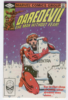 Daredevil #182 Elektra Is Alive Frank Miller Key VF