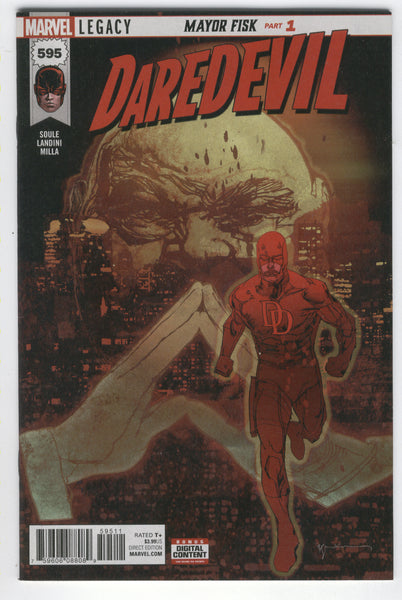 Daredevil #595 Mayor Fisk? Marvel Legacy VF