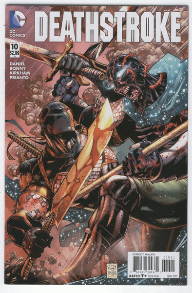 Deathstroke #10 Blood Sacrifice DC New 52 series VFNM