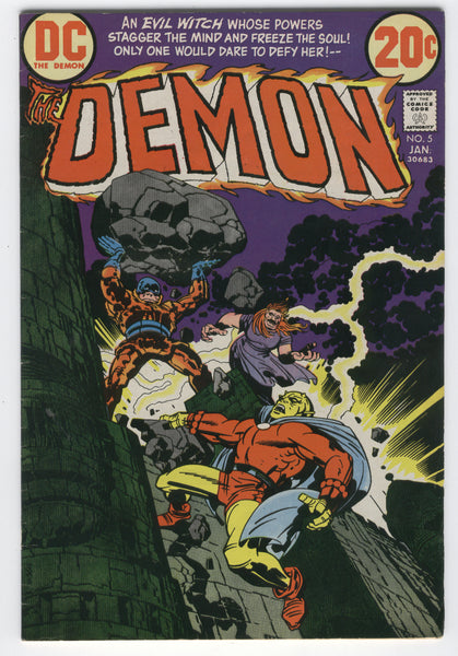 Demon #5 Merlin's Word Jack Kirby Bronze Age Classic VG