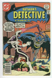Detective Comics #468 Batman Can't Beat The Calculator Bronze Age classic VG