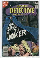 Detective Comics #476 The Sign Of The Joker Marshall Rogers Art Bronze Age Key VG+