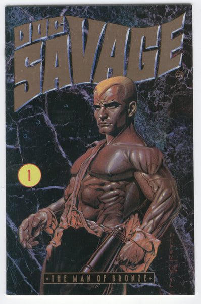 Doc Savage The Man Of Bronze #1 Millenium 1991 HTF Indy FN