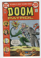 Doom Patrol #123 Menace Of The Turnabout Heroes Bronze Age Classic FN