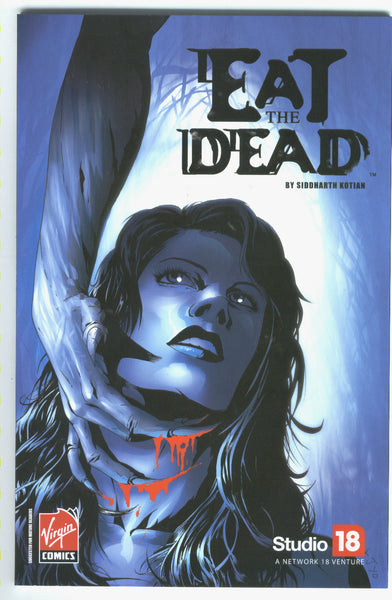Eat The Dead Graphic Novel 2007 Virgin Comics Mature Readers
