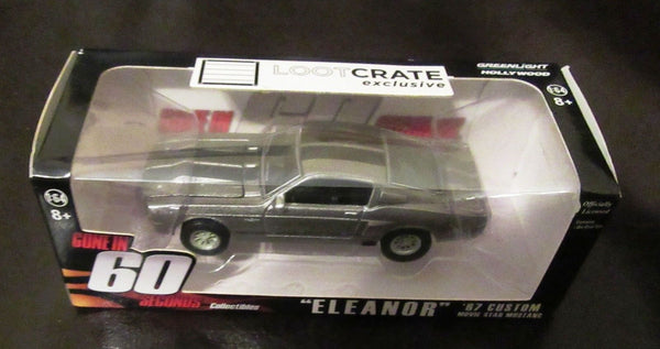 LootCrate Gone In Sixty Seconds Eleanor 1967 Mustang Die Cast New In Package