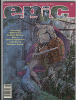 Epic Illustrated #7 Barry Smith Adams Starlin VF