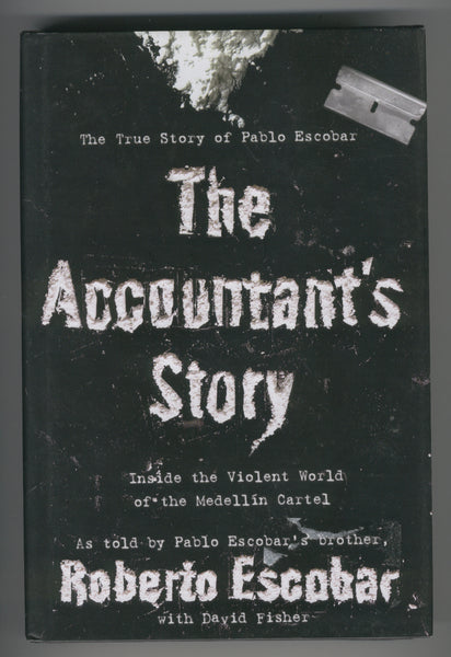 The Accountant's Story Pablo Escobar Hardcover w/ DJ VF