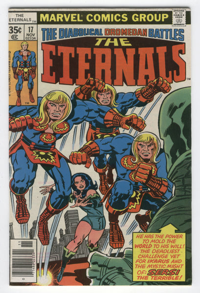 Eternals #17 Sersi The Terrible Bronze Age classic FVF