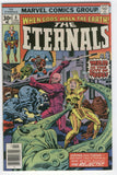 Eternals #8 The City Of Toads Jack Kirby Bronze Age Classic VF