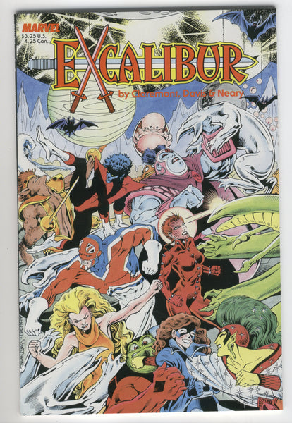 Excalibur Special Edition The Sword Is Drawn 1987 Alan Davis Art VFNM