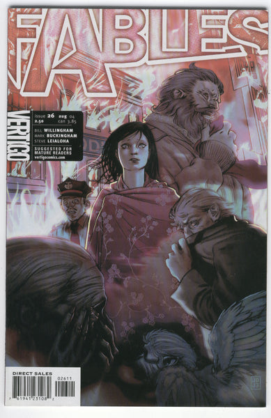 Fables #26 The Battle Of Fabletown VF