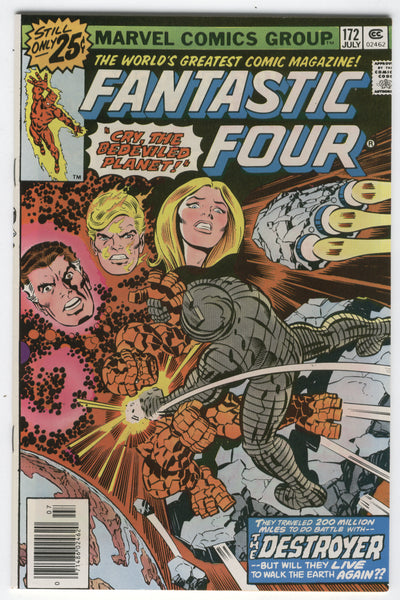 Fantastic Four #172 To Battle The Destroyer Perez Art VF