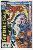 Fantastic Four #252 Sideways Issue Byrne Art w/ Tattooz VFNM