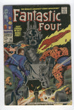 Fantastic Four #80 The Living Totem Kirby Silver Age Classic VG