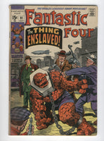 Fantastic Four #91 The Thing Enslaved First Appearanace Torgo Kirby Silver Age Classic GD