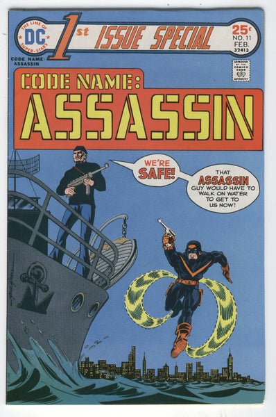 1st Issue Special #11 Code Name: Assassin Early Bronze Age Grell Art FN