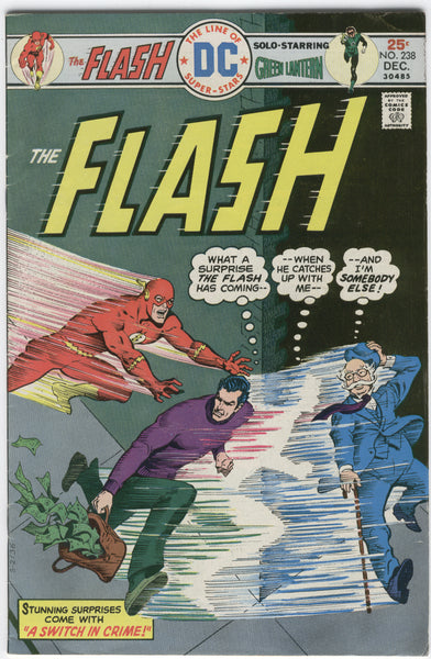 Flash #238 A Switch In Crime Mike Grell Green Lantern Bronze Age Classic Fine