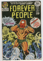 Forever People #5 Jack Kirby Bronze Age Classic 25 Cent Bigger & Better Issue VG+