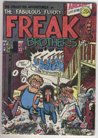 Collected Adventures of the Fabulous Furry Freak Brothers HTF early printing 1971 Underground VGFN