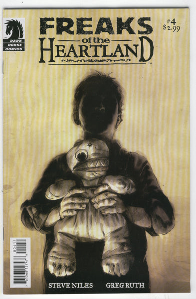 Freaks Of The Heartland #4 Dark Horse Mature Readers FVF