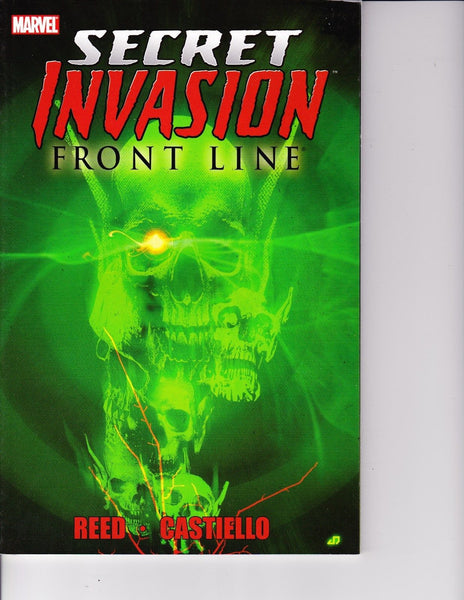 Secret Invasion: Front Line Trade Paperback First Print VFNM