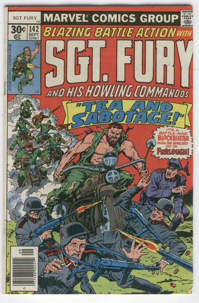 Sgt. Fury and His Howling Commandos #142 FN