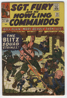 Sgt. Fury And His Howling Commandos #20 The Blitz Squad Strikes Silver Age Classic VG