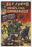 Sgt. Fury And His Howling Commandos #40 Wah-Hooo! Silver Age FN