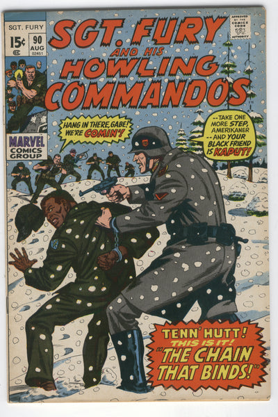 Sgt. Fury And His Howling Commandos #90 VG