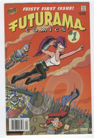 Futurama #1 Bongo Feisty First Issue HTF News Stand Variant VF