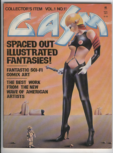 Gasm Vol. 1 #11 Magazine Illustrated Adult Sci-Fi Fantasy 1977 Mature Readers FN