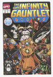 Infinity Gauntlet #1 Thanos The End Begins Here Starlin Perez VF-
