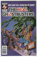 Real Ghostbusters #18 Now Comics HTF News Stand Variant with Poster Insert VF
