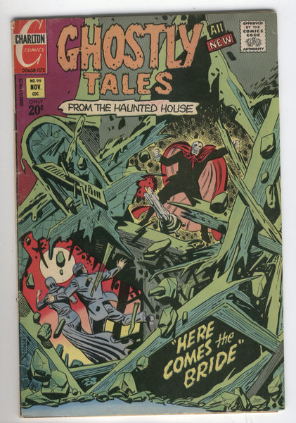 Ghostly Tales #99 Ditko Art Bronze Age Charlton Horror FN