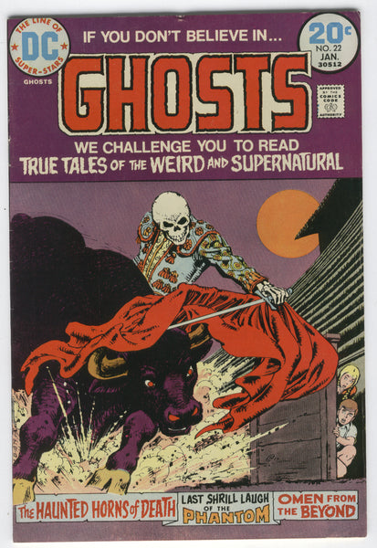 Ghosts #22 Bronze Age Horror FN