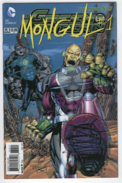 Green Lantern #23.2 Lenticular Cover Mongul #1 NM