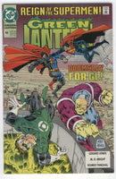 Green Lantern #46 Doomsday For GL Reign Of The Supermen VFNM