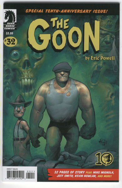 Goon #32 Special 10th Anniversary Issue Eric Powell VFNM