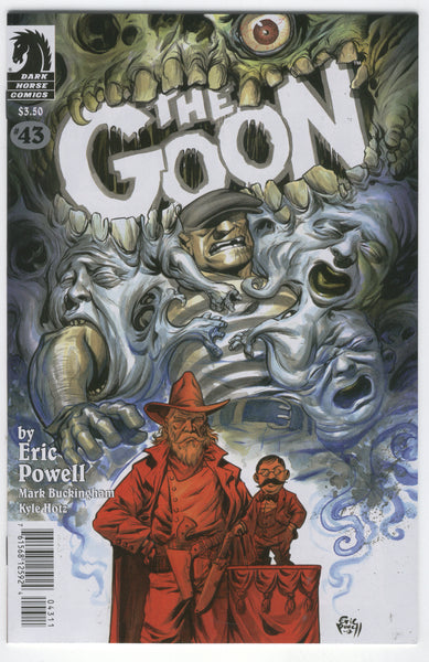 Goon #43 Read 'Em And Weap Eric Powell NM-